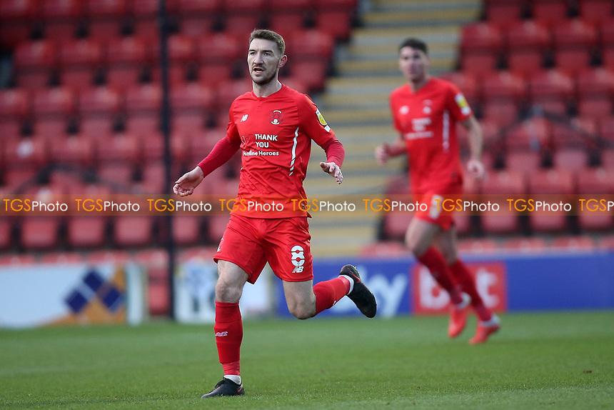 Craig Clay of Leyton Orient during Leyton Orient vs Salford City, Sky Bet EFL League 2 Football at The Breyer Group Stadium on 2nd January 2021