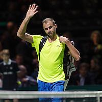 ABN AMRO World Tennis Tournament, Rotterdam, The Netherlands, 13 februari, 2017, Marius Copil (ROU)<br /> Photo: Henk Koster