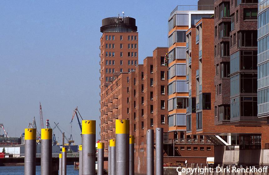 Hafencity bei den Magellan-Terrassen, Hamburg, Deutschland