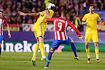 Atletico de Madrid's player Fernando Torres and CF Rostov's player César Navas during a match of UEFA Champions League at Vicente Calderon Stadium in Madrid. November 01, Spain. 2016. (ALTERPHOTOS/BorjaB.Hojas)