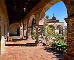 Mission San Juan Capistrano, the seventh mission founded in California