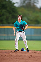 Michael Cacioppo (67) of SpringWield, New Jersey during the Baseball Factory Pirate City Christmas Camp & Tournament on December 29, 2018 at Pirate City in Bradenton, Florida. (Mike Janes/Four Seam Images)