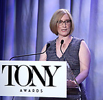 Heather Hitchens attend the 2018 Tony Awards Nominations Announcement at The New York Public Library for the Performing Arts on May 1, 2018 in New York City.