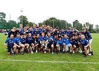 Saturday 5th September 2021<br /> <br /> Leinster celebrate winning the U18 Clubs inter-pro championship at Newforge Country Club, Belfast, Northern Ireland. Photo by John Dickson/Dicksondigital