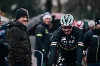 World Champion Peter Sagan (SVK/Bora-Hansgrohe) to the start<br /> <br /> 12th Strade Bianche 2018<br /> Siena > Siena: 184km (ITALY)