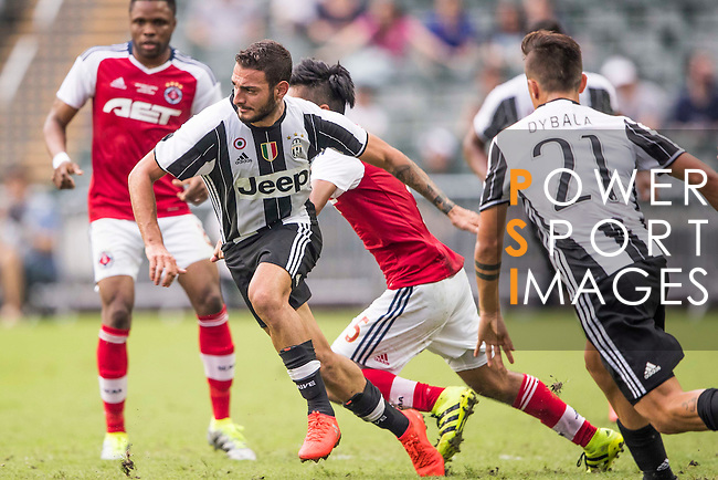 Juventus' player Grigoris Kastanos in action during the South China vs Juventus match of the AET International Challenge Cup on 30 July 2016 at Hong Kong Stadium, in Hong Kong, China.  Photo by Marcio Machado / Power Sport Images