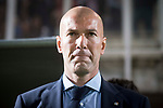 Real Madrid coach Zinedine Zidane during Copa del Rey match between Fuenlabrada and Real Madrid at Fernando Torres Stadium in Madrid, Spain. October 26, 2017. (ALTERPHOTOS/Borja B.Hojas)