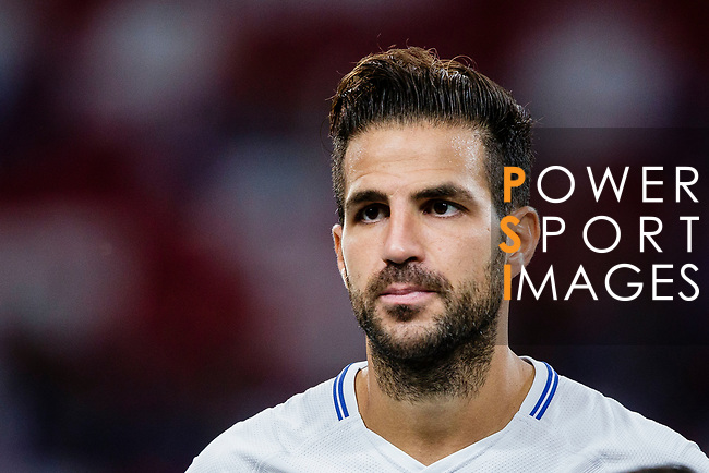 Chelsea Midfielder Cesc Fabregas getting into the field during the International Champions Cup 2017 match between FC Internazionale and Chelsea FC on July 29, 2017 in Singapore. Photo by Marcio Rodrigo Machado / Power Sport Images