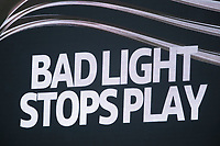 Bad light stopped play just after tea during India vs New Zealand, ICC World Test Championship Final Cricket at The Hampshire Bowl on 19th June 2021