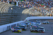 Monster Energy NASCAR Cup Series<br /> ISM Connect 300<br /> New Hampshire Motor Speedway<br /> Loudon, NH USA<br /> Sunday 24 September 2017<br /> Kyle Busch, Joe Gibbs Racing, M&M's Caramel Toyota Camry and Martin Truex Jr, Furniture Row Racing, Furniture Row/Denver Mattress Toyota Camry<br /> World Copyright: Nigel Kinrade<br /> LAT Images