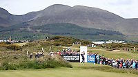 Saturday 30th May 2015; Graeme McDowell, Northern Ireland, tees off at 6th tee<br /> <br /> Dubai Duty Free Irish Open Golf Championship 2015, Round 3 County Down Golf Club, Co. Down. Picture credit: John Dickson / SPORTSFILE