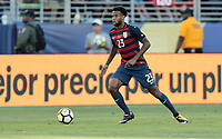 Santa Clara, CA - Wednesday July 26, 2017: Kellyn Acosta during the 2017 Gold Cup Final Championship match between the men's national teams of the United States (USA) and Jamaica (JAM) at Levi's Stadium.