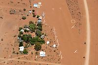 Flugplatz Kiripotib: NAMIBIA, AFRIKA, 1.12.2019: Kiripotib