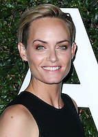 BEVERLY HILLS, CA, USA - OCTOBER 02: Amber Valletta arrives at Michael Kors Launch Of Claiborne Swanson Franks's 'Young Hollywood' Book held at a Private Residence on October 2, 2014 in Beverly Hills, California, United States. (Photo by Xavier Collin/Celebrity Monitor)