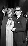 KARL LAGERFELD CON BETTINA GRAZIANI<br /> PREMIO THE BEST A PALAZZO PECCI BLUNT ROMA 1978