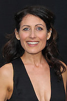 """WESTWOOD, LOS ANGELES, CA, USA - APRIL 10: Lisa Edelstein at the Los Angeles Premiere Of Warner Bros. Pictures And Alcon Entertainment's """"Transcendence"""" held at Regency Village Theatre on April 10, 2014 in Westwood, Los Angeles, California, United States. (Photo by Xavier Collin/Celebrity Monitor)"""