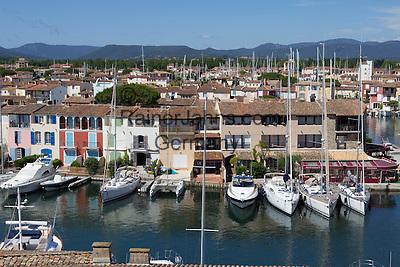 France, Provence-Alpes-Côte d'Azur, Port Grimaud   Frankreich, Provence-Alpes-Côte d'Azur, Port Grimaud