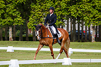 AUS-Stephen Way rides Congress Master during the Dressage for the CCIL 2* Section A. 2021 GBR-Saracen Horse Feeds Houghton International Horse Trials. Hougton Hall. Norfolk. England. Friday 28 May 2021. Copyright Photo: Libby Law Photography