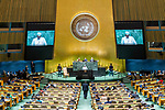 General Assembly Seventy-fourth session, 5th plenary meeting<br /> <br /> His Excellency Idriss Deby Itno, President, Head of State and Head of Government,<br /> Republic of Chad