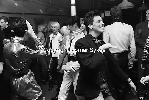 Blitz Club Covent Garden London 1980. <br /> <br /> My ref 12/3995/1980 <br /> <br /> If you know the names of any of the people in these pictures, please let me know. many thanks.