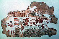 Eqyptian Tomb Paintings:  The Goose Census, c. 1400 BC.  Trustees of the British Museum.  Reference only.