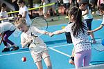 Lawn Tennis Association event at Heath Park, Cardiff.<br /> 17.07.17<br /> ©Steve Pope - Fotowales