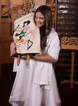 Bet Torah Family Portraits <br /> on Bema with Torah
