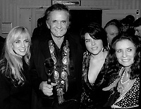 Johnny Cash and family 1992<br /> Photo By Adam Scull/PHOTOlink.net