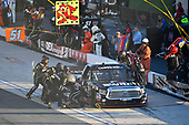 NASCAR Camping World Truck Series<br /> Bar Harbor 200<br /> Dover International Speedway, Dover, DE USA<br /> Friday 2 June 2017<br /> Noah Gragson, Switch Toyota Tundra makes a pit stop, Sunoco<br /> World Copyright: Logan Whitton<br /> LAT Images<br /> ref: Digital Image 17DOV1LW2384