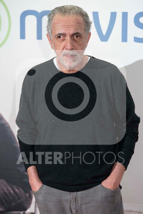"Fernando Trueba attends to the premire of the film ""Que fue de Jorge Sanz"" at Cinesa Proyecciones in Madrid. February 10, 2016."