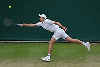 5th July 2021, Wimbledon, SW London, England; 2021 Wimbledon Championships, day 7; Hubert Hurkacz , Poland