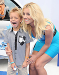 Britney Spears and Sean Federline at The Columbia Pictures and Sony Pictures Animation L.A. Premiere of The Smurfs 2 held at The Regency Village Theatre in Westwood, California on July 28,2013                                                                   Copyright 2013 Hollywood Press Agency