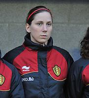 Qualification Women's Euro 2013 - Belgium - Iceland ; Belgie - Ijsland ; Armand Melis Stadion Dessel :.Berit Stevens.foto DAVID CATRY / Vrouwenteam.be
