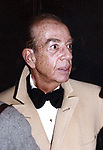 Vincente Minnelli attending the  Liza Minnelli and Mark Gero Wedding on December 4, 1979 at St. Bartholomew Church in New York City.