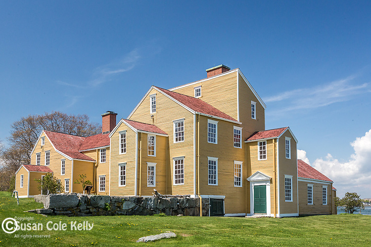 The Wentworth-Coolidge Mansion State Historic Site in Portsmouth, New Hampshire, USA