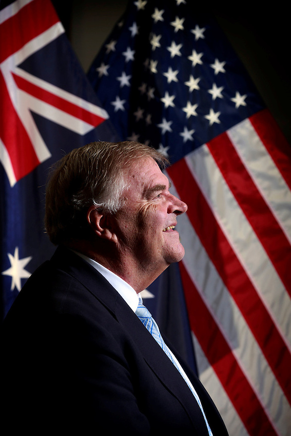 Australian Ambassador to the United States Kim Beazley pictured at the Embassy in Washington D.C.
