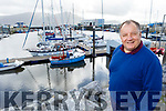 Commodore Liam Lynch of the Tralee Bay Sailing Club committee, disappointed at the cancellation of the WIORA championships.