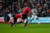 Saturday 17 August 2013<br /> <br /> Pictured: Wayne Routledge of Swansea<br /> <br /> Re: Barclays Premier League Swansea City v Manchester United at the Liberty Stadium, Swansea, Wales