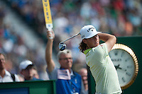 20.07.2014. Hoylake, England. The Open Golf Championship, Final Round.  Kristopher BROBERG [SWE] from the tee