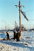 FILE - La crise du verglas en janvier 1998<br /> <br /> PHOTO  :  Agence Quebec Presse