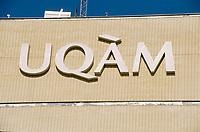 1999 File Photo - Montreal (qc) CANADA -  UQAM New pavillion on President-Kennedy street<br /> <br /> Nouveau pavilon de l'UQAM