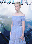 """Elle Fanning attends The World Premiere of Disney's """"Maleficent"""" held at The El Capitan Theatre in Hollywood, California on May 28,2014                                                                               © 2014 Hollywood Press Agency"""