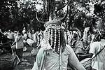 Muria tribe dances during a marrige ceremony wearing bison horns. Sukma, Chattisgarh, India. Arindam Mukherjee.
