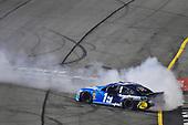 #19: Martin Truex Jr., Joe Gibbs Racing, Toyota Camry Auto Owners Insurance celebrates his win