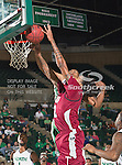Troy Trojans forward Tim Owens (42) in action during the game between the Troy Trojans and the University of North Texas Mean Green at the North Texas Coliseum,the Super Pit, in Denton, Texas. UNT defeats Troy 87 to 65.....