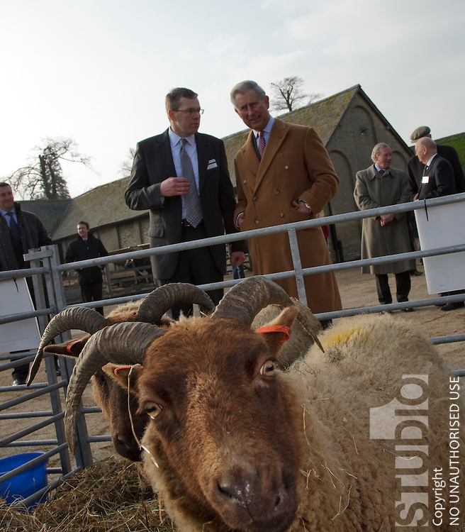 Prince Charles The Prince of Wales Launches the Wool Project at Wimpole Hall Royston
