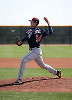 Dante Mendoza - Cleveland Indians 2018 spring training (Bill Mitchell)