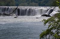 Sandstone Falls, West Virginia. New River Gorge National Park.