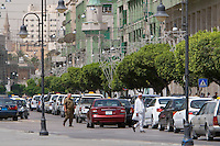 Tripoli, Libya - Umar Mukhtar Street, Traffic