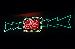 Neon Cocktails sign at bar in Los Angeles, CA